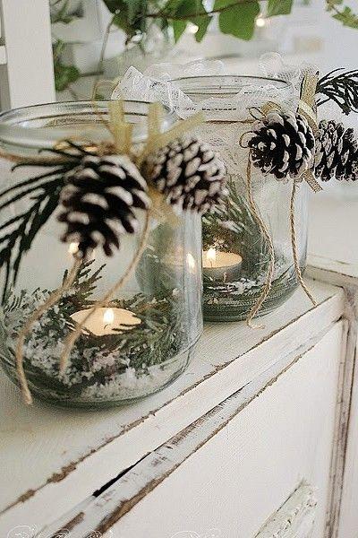 dekoracje na święta stół wigilijny świecznik składanie serwetek