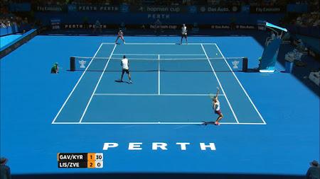 TV Yang Menayangkan Tennis  Hopman Cup 2016