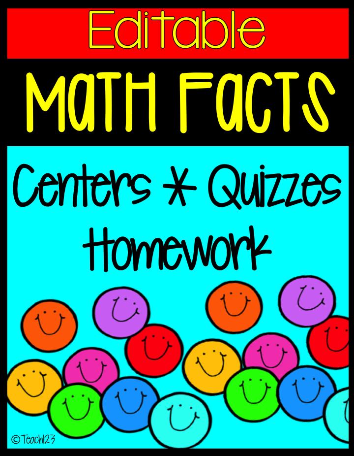 Math Facts: Addition - Teach123