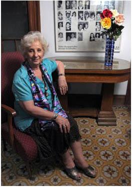 Estela de Carlotto Pta. Abuelas 2011