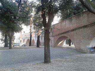 Il tratto vicino a Castel S.Angelo