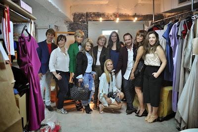Foto del grupo que pudimos visitar el atelier de Ulises Mérida