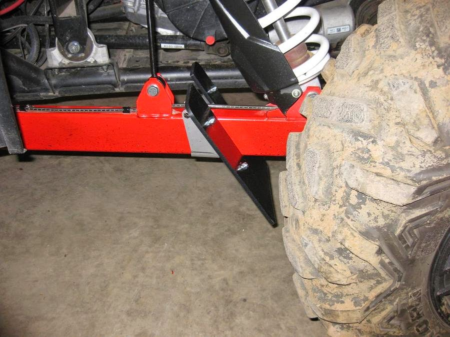 RZR XP 1000 TRAILING ARM ROCK DEFLECTOR