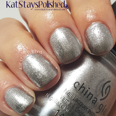 China Glaze - The Great Outdoors - Check Out the Silver Fox | Kat Stays Polished