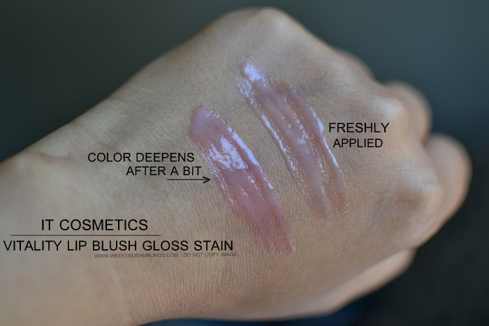It Cosmetics Your Most Beautiful You 6 Piece Antiging Makeup Collection Vitality Lip Blush Hydrating Gloss Stain Beauty Blog Photos Swatches