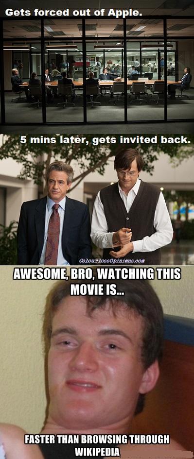 Steve Jobs meme movie stills