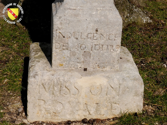 FROLOIS (54) - Croix de mission (1706)