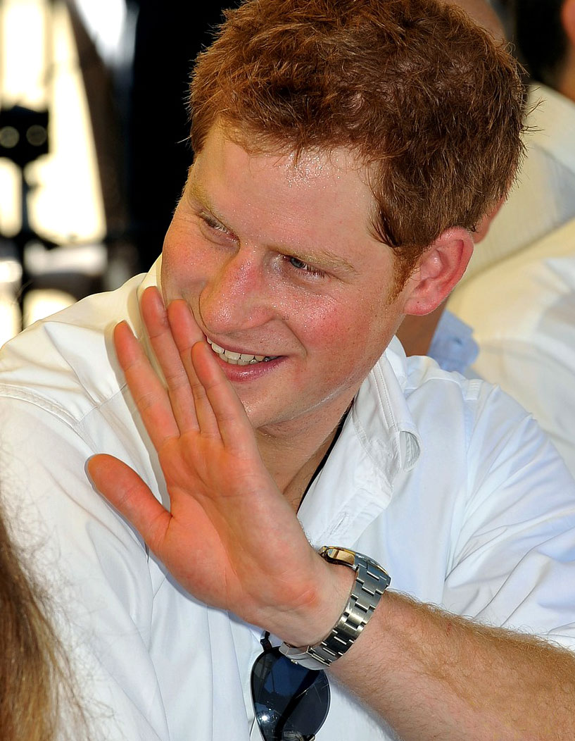 Sex diferences evidence Prince-Harry-Rolex-tours-belize-on-diamond-jubilee-tour