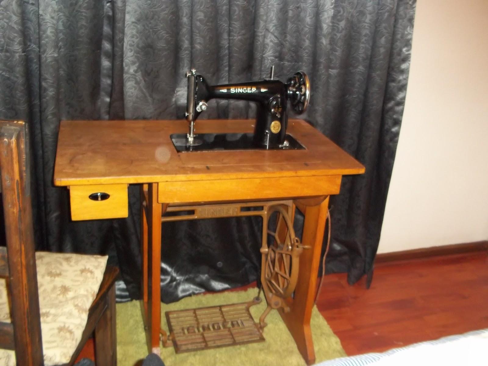 date my singer sewing machine