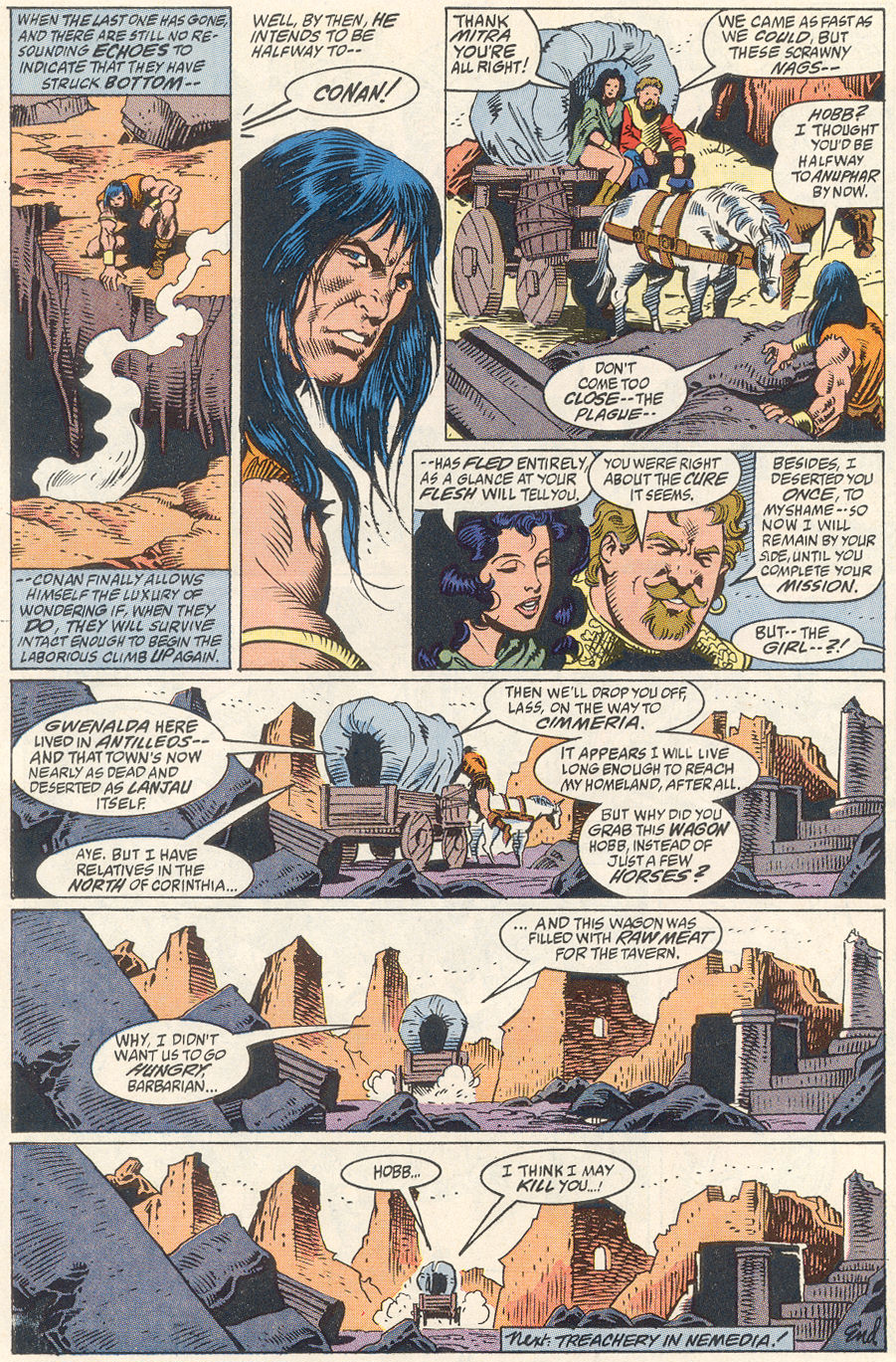 Conan the Barbarian (1970) Issue #256 #268 - English 23