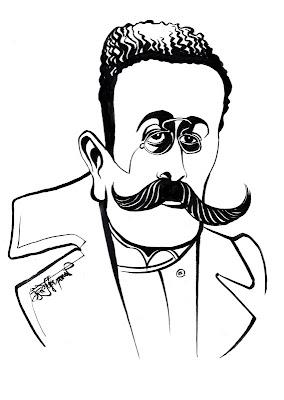 Caragiale caricature 2