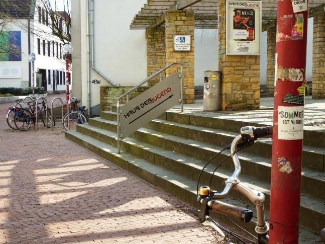 Osnabrück,Altstadt,Radtour,Kultur,Haus der Jugend