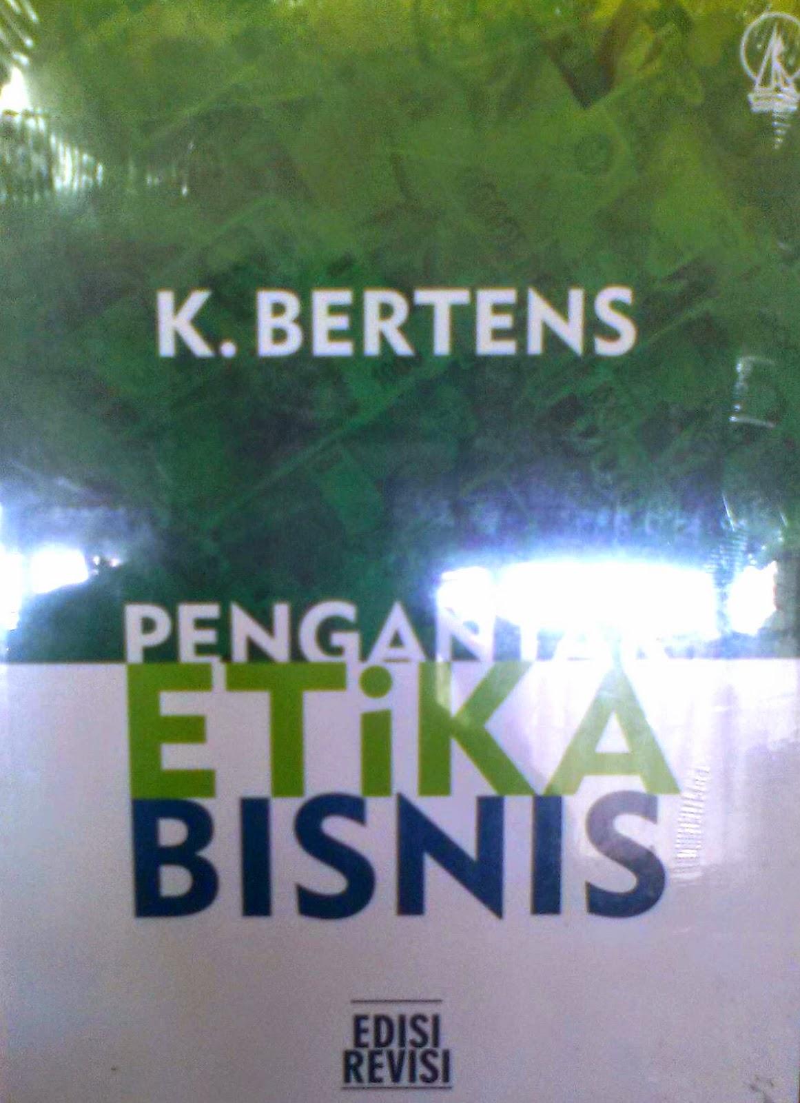 Pengantar Etika Bisnis K Bertens Download
