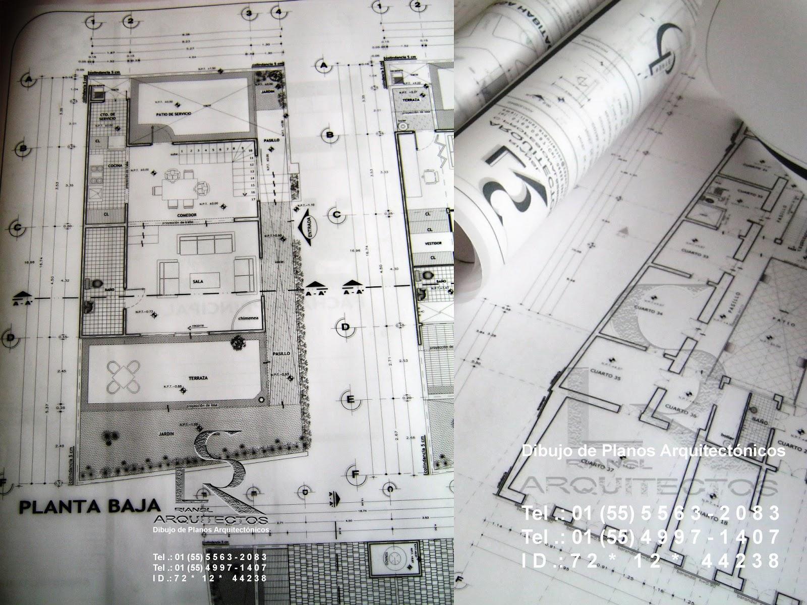 Precio De Dibujo Planos Arquitect Nicos De Casa Habitaci N