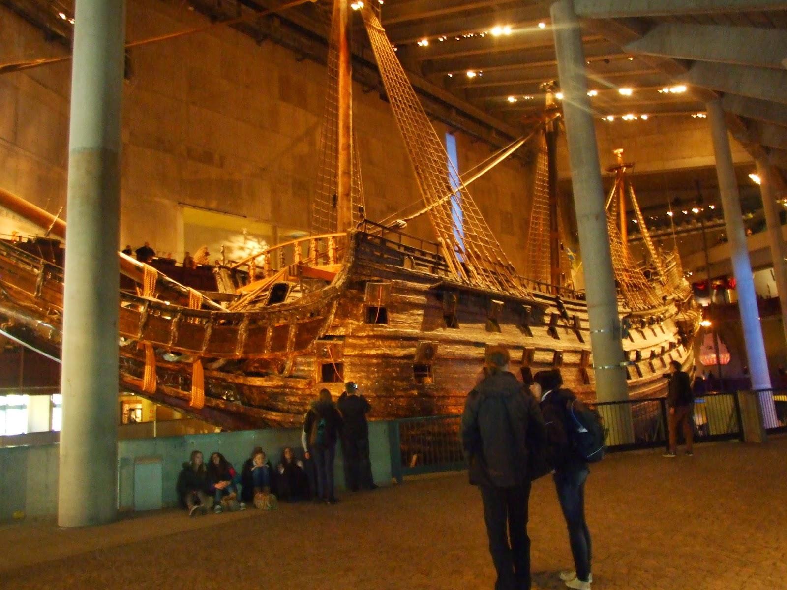 Szwecja - Vasa Museum - atrakcja dla całej rodziny
