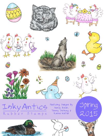 Inky Antics Spring 2015