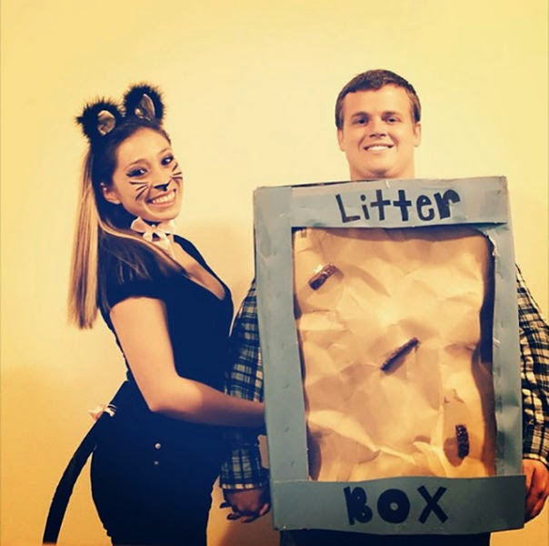 Source  sc 1 st  Gurl.com & 28 Insanely Clever DIY Couples Costumes For Halloween No One Else ...