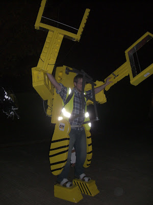 Powerloader Homemade Costume