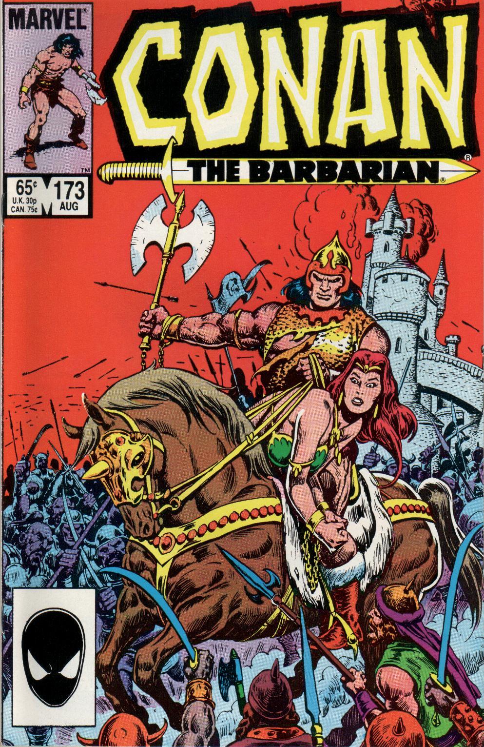 Conan the Barbarian (1970) Issue #173 #185 - English 1