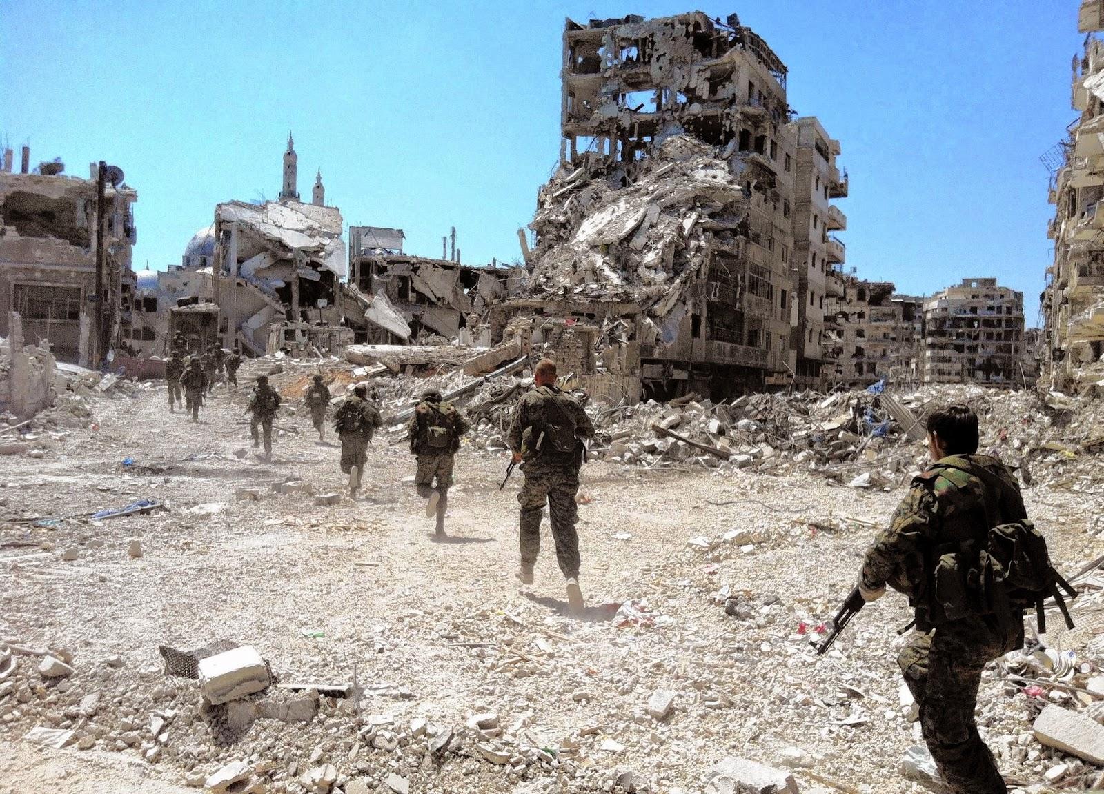Sepanjang Tahun 2014 Perang Suriah Tewaskan 76.000 Jiwa