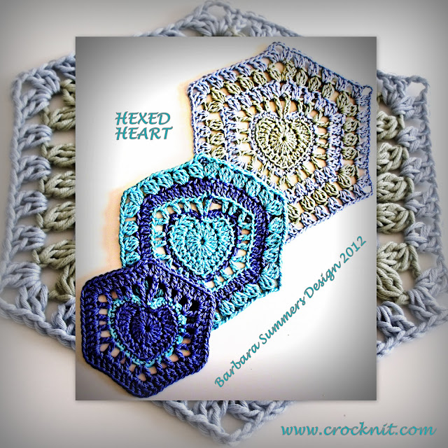 crochet patterns, how to crochet, hearts, hearts afghans, granny square hearts,