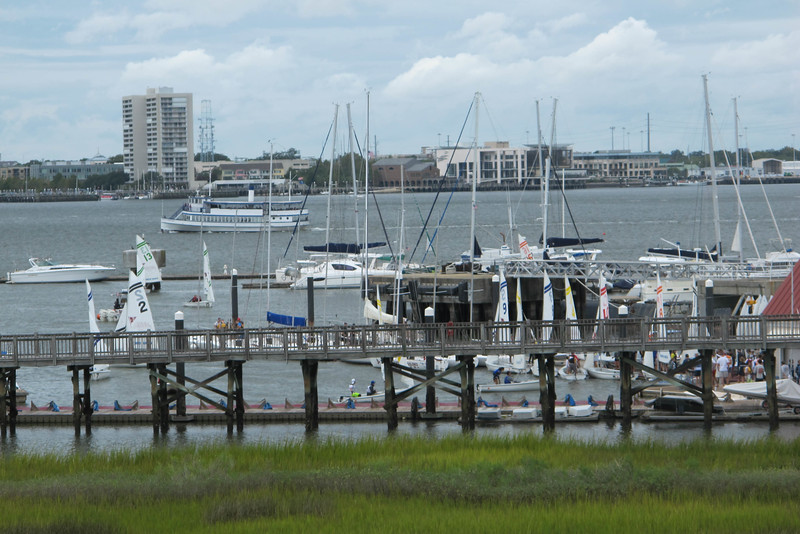 Charleston daily photo a room with a view for Charleston harbor fish house