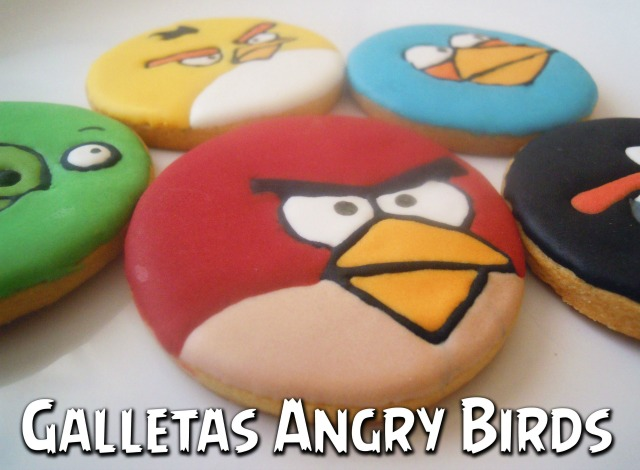 tutorial galletas decoradas Angry Birds