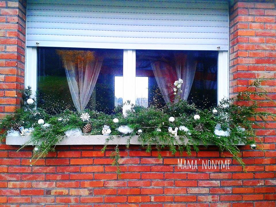 Mama 39 nonyme et ses merveilles for Decoration bord fenetre