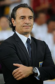 Translations of Cesare Prandelli, Manager of Italy (Gli Azzurri)