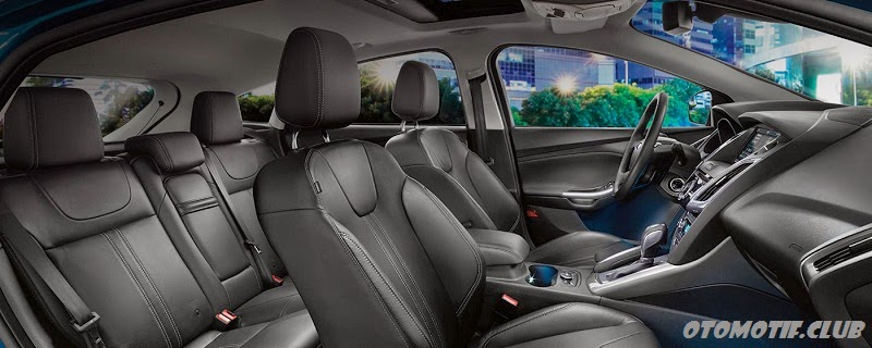 Interior All New Ford Focus 2014