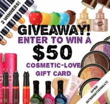 $50 Cosmetic Love Card