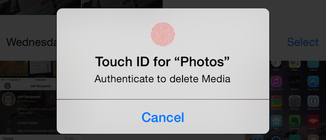 Photego Touch ID Tweak