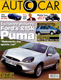 Autocar Review Ford Puma 1997