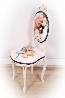 вышитый стул Lanarte