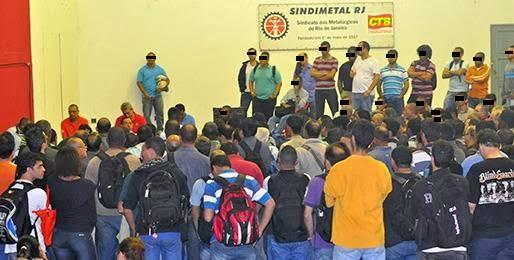 Assembleia Geral, 03/7, na Sede do Sindicato, Rua Ana Néri, 152, Benfica, Rio de Janeiro-RJ.