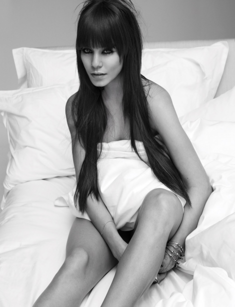 Vanessa Hudgens naked in bed by Mert & Marcus