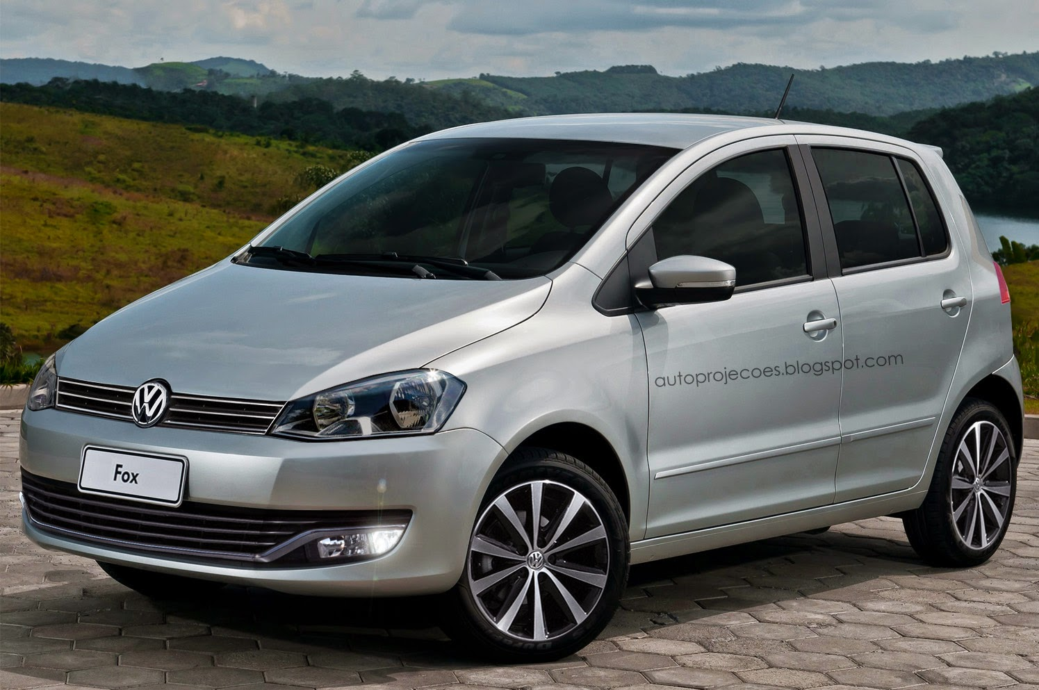 proje o volkswagen fox 2015 auto proje es. Black Bedroom Furniture Sets. Home Design Ideas