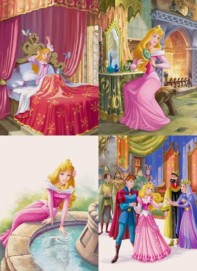 ��blog princesas disney�� aurora en su vida diaria como