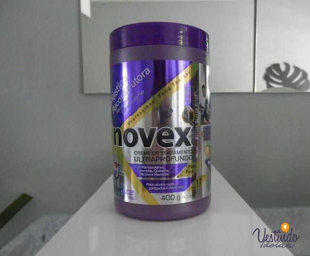 Review: Creme de tratamento ultraprofundo- Plástica Reconstrutora da Novex