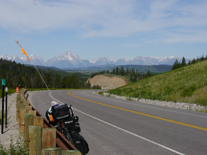 Tetons from Togwatee