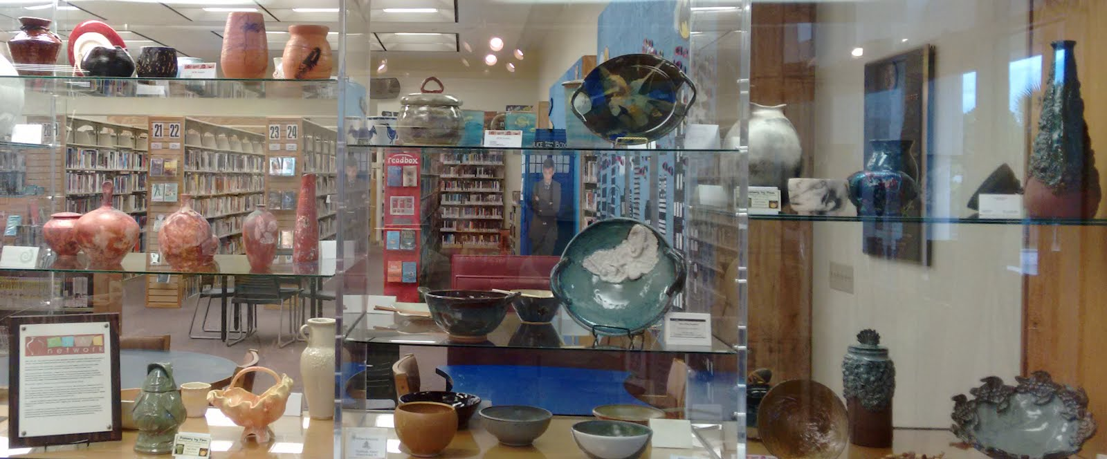 Clay Network library display