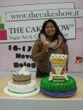 pemenang 1 cake show Bologna(Italy)