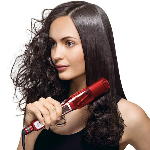 how to straighten your Curly hair