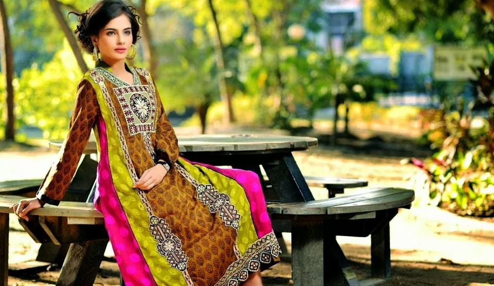 Embroidered Lawn Suits By Raza Arts