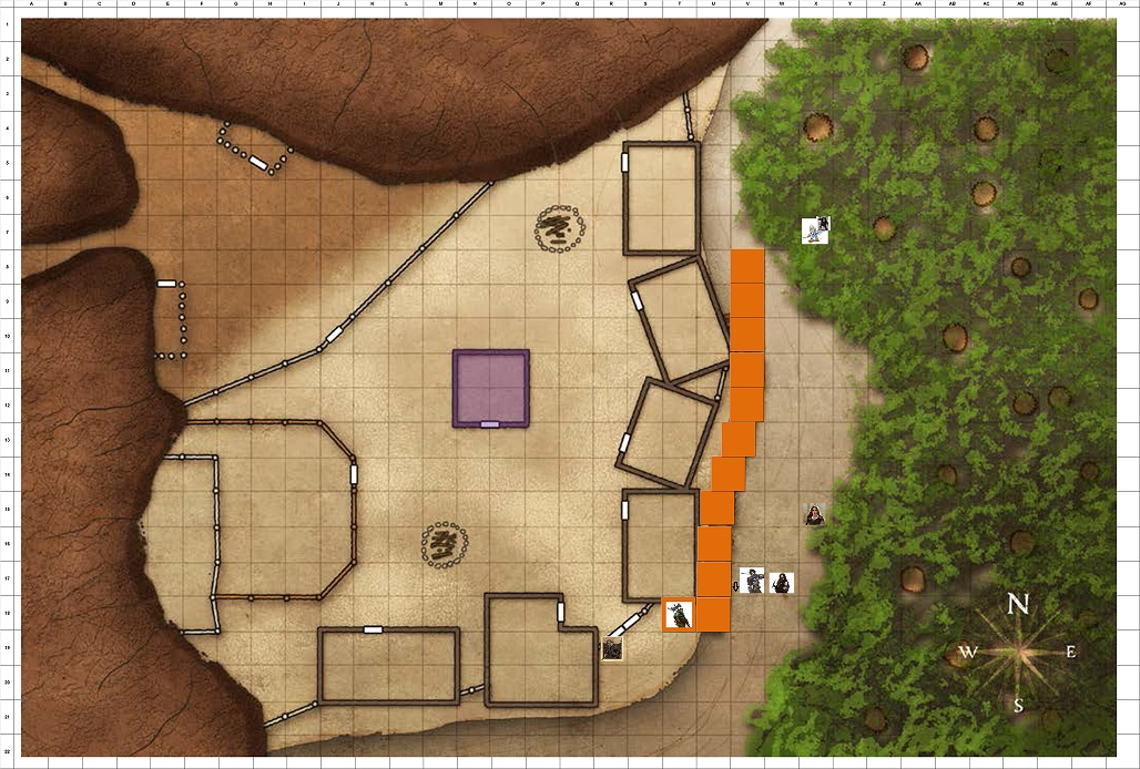 Combat Map Turn 35