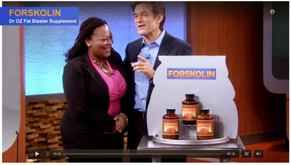 Click Here to Watch Dr. OZ Show on Forskolin