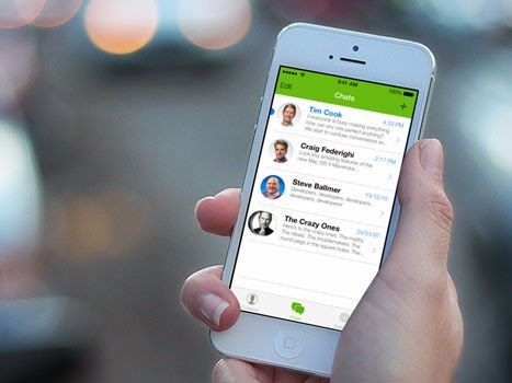 WhatsApp đã cập nhật phiên bản mới phù hợp với giao diện iOS7