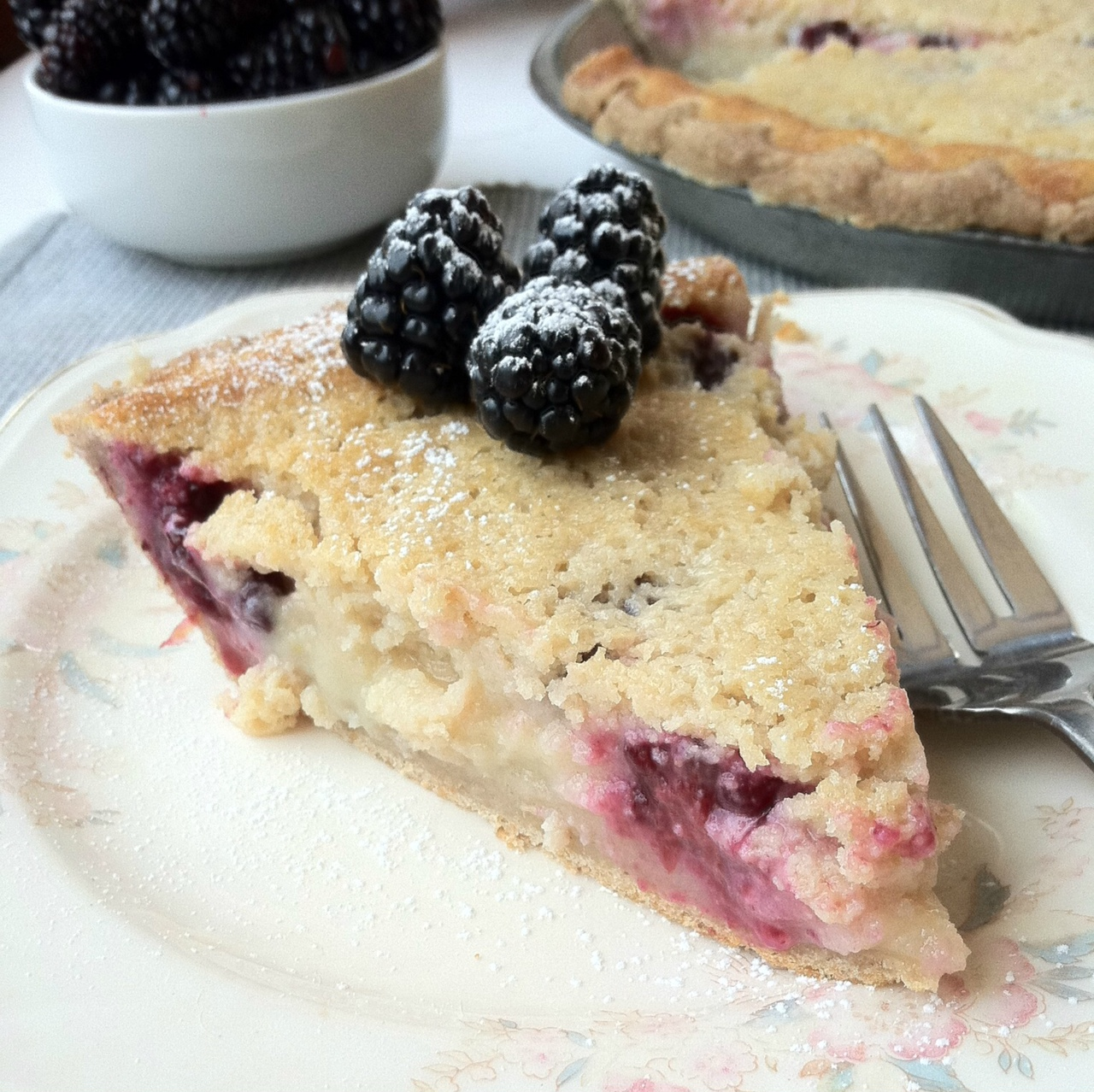 Blackberry Buttermilk Pie Recipes — Dishmaps