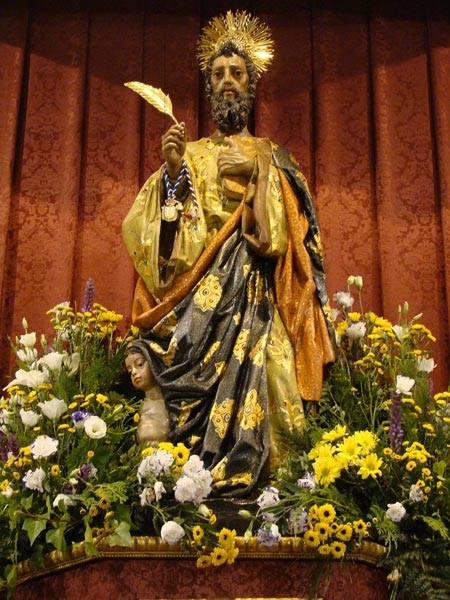 San Mateo patrón de Alcalá de Guadaíra