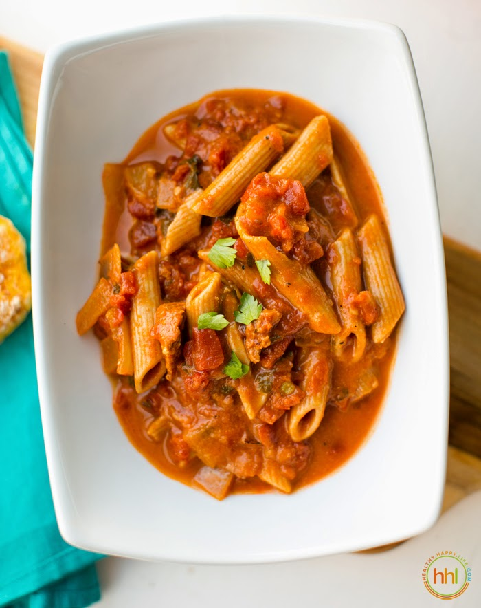 Spicy tomato pasta stew easy vegan dinner 3 secret ingredients three must try stew and soup ingredients watch the video below to see what i have to say and yes all three of these ingredients are in todays recipe forumfinder Images